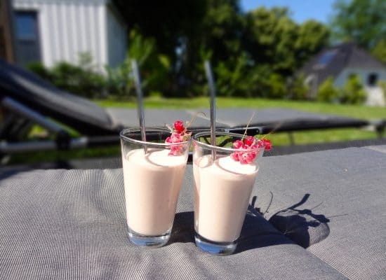 Ferienhaus Beeren-Cocktail im Garten