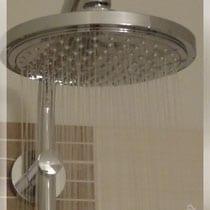 Ferienhaus Raindance Dusche