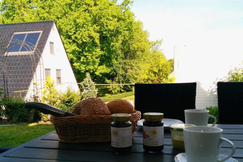 Frühstück am Fleesensee